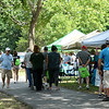 Visitors check out the various demonstrations and vendors on Saturday during the Shoal Creel Water Festival at Wildcat Glades.<br /> Globe | Laurie Sisk