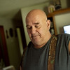 Vurl Brock, tenant of Dorothy Humphrey, talks about his personal losses from the two Neosho floods on Friday.<br /> Globe | Roger Nomer