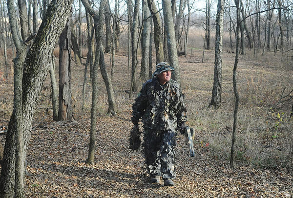 Globe/Roger Nomer<br /> Max Good in Parsons would one of many Kansas seniors affected by proposed changes to hunting license fees.