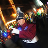 Globe/Roger Nomer<br /> Jonah Christians, an 8th grade student at North Middle School, marches with the band at the Joplin Christmas Parade on Tuesday evening.