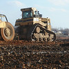 Globe/Roger Nomer<br /> Dirt work continues at the Joplin High School site on Monday afternoon.