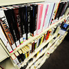 """Crowded shelves in the teen library Thursday afternoon, Dec. 12, 2013, at the Joplin Public Library. """"Our shelves are full. Whenever I buy a book, I'm so out of space that I have to get rid of a book,"""" said Cari Rerat, teen librarian.<br /> Globe 