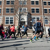Globe/Roger Nomer<br /> Runners start out on the Chilly 5K on Saturday at the downtown Joplin YMCA.