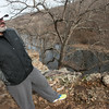 Globe/Roger Nomer<br /> Tom Rogers overlooks the running path at Wildcat Glades on Wednesday.