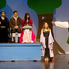 "Globe/Roger Nomer<br /> Joplin High students rehearse a scene from ""Robin Hood"" on Monday at Joplin High School."
