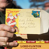Globe/Roger Nomer<br /> Bob Gelso's Christmas letter he received as a child was found in a cigar box and returned to him.