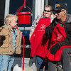 Globe/Roger Nomer<br /> Tru Nathan Hocker, 4, talks with Lorna and William Whittenback on Saturday at the Walmart on Seventh Street.