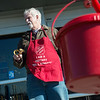 Globe/Roger Nomer<br /> Wally Bloss, Joplin Rotary president elect, rings bells for the Salvation Army at the 15th Street Walmart on Saturday.
