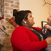 Globe/Roger Nomer<br /> Ashley Reeves plays with her nephew Rohen on Saturday in Joplin.