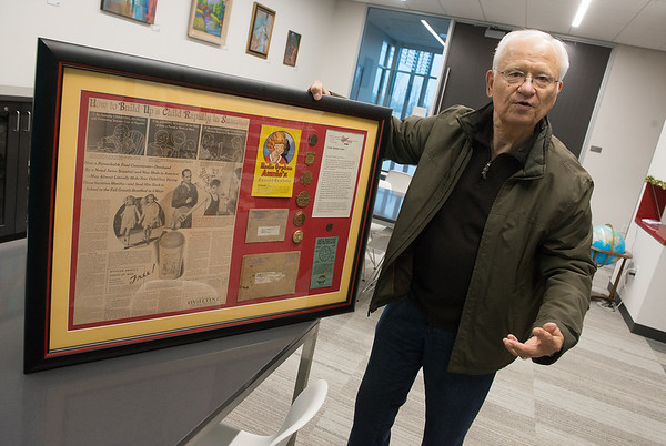 On Friday, Allen Shirley talks about Little Orphan Annie and Ovaltine items that will be on display at the Joplin Public Library.<br /> Globe | Roger Nomer