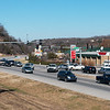 Traffic travels through Bella Vista, Ark., on Monday.<br /> Globe | Roger Nomer