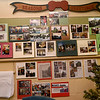 A wall of memories chronicles the history of the Bowen Christmas Tree Farm, which has enlisted the help of four generations of Bowens, making the business a true family affair.<br /> Globe | Laurie Sisk