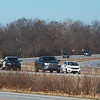 Traffic travels along I-49 near Bentonville, Ark., on Monday.<br /> Globe | Roger Nomer