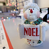 One of dozens of Noel-themed pieces sit inside the Noel Post Office on Thursday.<br /> Globe | Laurie SIsk