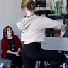 Lisa Brodrick watches her daughter, Alexis Brodrick, perfect her dancing skills on Saturday at Dance Academy in Miami. Alexis is about the same age that Lisa's cousin, Lauria Bible was when she disappeared 20 years ago,<br /> Globe | Laurie SIsk