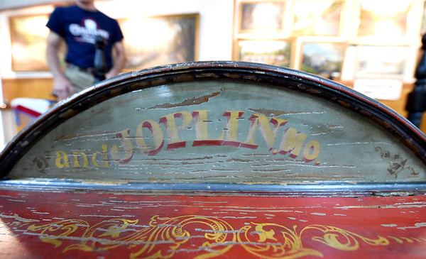 The Joplin community is recognized as part of the mining tradition on the centennial wheelbarrow along with Granby, Oronogo and Carthage.<br /> Globe | Laurie Sisk