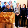 "Globe/T. Rob Brown<br /> Carl Junction High School FFA students and the Missouri Farm Bureau donated a large quantity of groceries to the Ronald McDonald House pantry Wednesday morning, Feb. 8, 2012, in Joplin. The donation was part of the Farm Bureau's ""Thank a Farmer"" week (Feb. 5-11)."