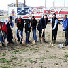 Globe/T. Rob Brown<br /> Groundbreaking at 26th Street and Bird Avenue by Convoy of Hope, which plans to build 12 new homes in Joplin for residents who lost homes to the May 22, 2012, tornado. The announcement was made Monday morning near the intersection of 26th Street and Bird Avenue.