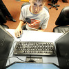 Globe/T. Rob Brown<br /> Fifth grader Matthew Novalany works with robot-programming software Wednesday after school, Feb. 8, 2012, at Seneca Intermediate School.