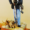 Globe/T. Rob Brown<br /> A miniature soldier depicting a member of the 2nd Kansas (Colored) Infantry of Fort Blair at Baxter Springs, Kan., is on display at the Baxter Springs (Kan.) Heritage Center and Museum. The figures were hand painted by and donated to the museum by T.L. Barton. The ground cover on each miniature's base was gathered from the battle site where that uniform was worn.