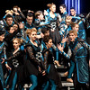 "Members of Carthage High School's ""Soundwave"" delight a packed house with their futuristic program on Saturday night at the In the Spotlight Show Choir Invitational hosted by Joplin High School.<br /> Globe 