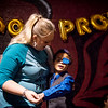 Robert Thomas, 9, dances with his mother Melissa Kennon, Lamar, during Saturday's Joy Prom at the Barton County Strength Club.<br /> Globe | Roger Nomer