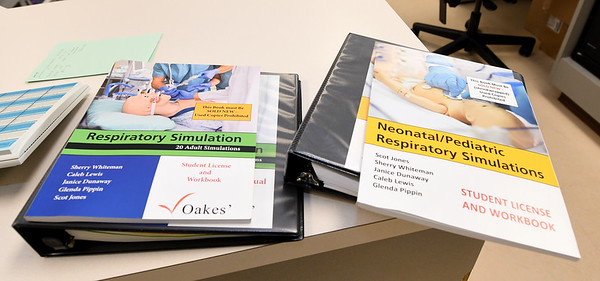 Missouri Southern respiratory therapy faculty members have published  textbooks for use by other institutions on uses for simulation mannequins.<br /> Globe | Laurie Sisk