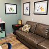 Family rooms provide visiting families a place to wait at the new Children's Center.<br /> Globe | Roger Nomer