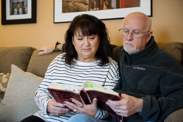 Pat and Steve Russell credit their Christian faith for giving them strength following the death of their son R.J. <br /> Globe | Roger Nomer