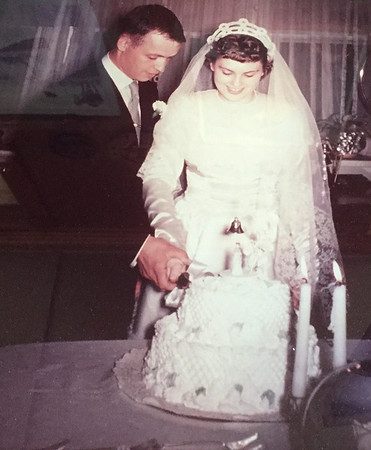 Ike and Virginia Barger were married in 1952. Contributed Photo