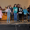 Cast members rehearse a number for Joplin Little Theatre's Valentine Concert on Wednesday night at JLT. <br /> Globe | Laurie Sisk