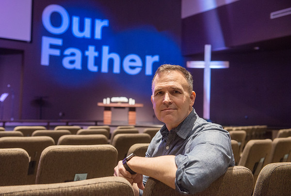 Aaron Brown is the lead pastor at St. Paul's United Methodist Church.<br /> Globe | Roger Nomer