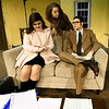"""From the left: Chansey Rhodes (as Jean McCormick,) Chelsie Jeffries (Karen Nash) and Kaden Propps (Sam Nash) rehearse their roles for the first act of """"Plaza Suite on Tuesday at Missouri Southern.<br /> Globe 
