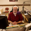 Long-time on-air announcer Matthew Whitt talks about his job at KRPS on Wednesday.<br /> Globe | Roger Nomer