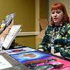 Kansas City comic book artist Megan Levens talks about her craft during the Neosho Arts Council's Artcon on Saturday at the Neosho Civic Center. Proceeds from the event will be used to restore historic murals in sownton Neosho.<br /> Globe | Laurie Sisk