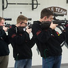 Members of the Webb City JROTC Rifle Team practice on Tuesday at Webb City High School.<br /> Globe | Roger Nomer