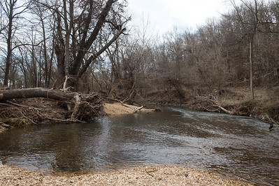 Hickory Creek runs through Morse Park in Neosho. Globe | Roger Nomer