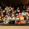 A large crowd cheers on the cowboys during the LJ Jenkins Bull Riding Tour Finals on Saturday night at Memorial Hall.<br /> Globe | Laurie Sisk