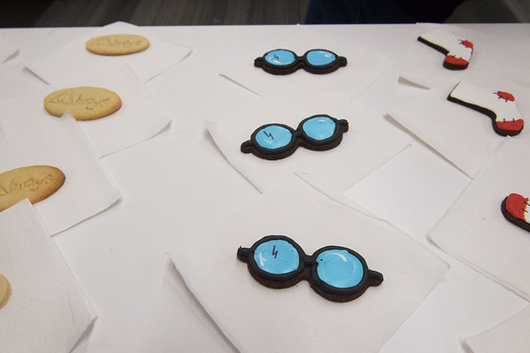 Harry Potter sweets are available during Harry Potter Day at the Joplin Public Library on Friday.<br /> Globe | Roger Nomer
