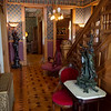 Stair Hall at the Elijah Thomas Webb Home is located in Webb City.<br /> Globe | Roger Nomer