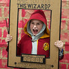 David Lance, 8, poses for a photo during Harry Potter Day at the Joplin Public Library on Friday.<br /> Globe | Roger Nomer