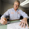 Globe/T. Rob Brown<br /> Ed Smith, manager of Midway Sheet Metal, works on a project for a customer Wednesday afternoon, Jan. 2, 2013, at the Duquesne business, 7700 E. 20th St.