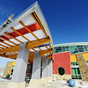 The architectural style created by Sapp Design Associates for the new Irving Elementary School Thursday afternoon, Jan. 2, 2014.<br /> Globe | T. Rob Brown