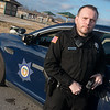 Globe/Roger Nomer<br /> Steven Pugh is a FTO and drug recognition expert with the Seneca Police Department.