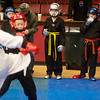 Globe/Roger Nomer<br /> Nervous competitors wait their turn on Saturday during the Joplin Eye of the Storm Invitational Karate Tournament at Memorial Hall.