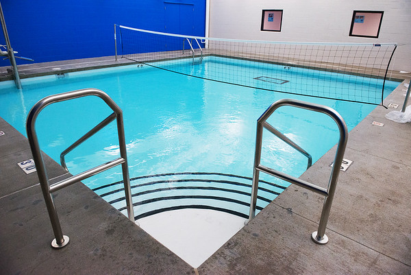 The Eastern Shawnee Wellness Center will open three new pools on Friday.<br /> Globe | Roger Nomer