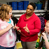 Globe/Roger Nomer<br /> Vickie Gilbert teaches fractions to Nevaeh Kunce and Everett Larue in her fourth-grade classroom in West Central Elementary on Monday.
