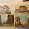 Charlyn Hubbard's collection of postcards includes postcards of historic downtown Joplin.<br /> Globe | Roger Nomer