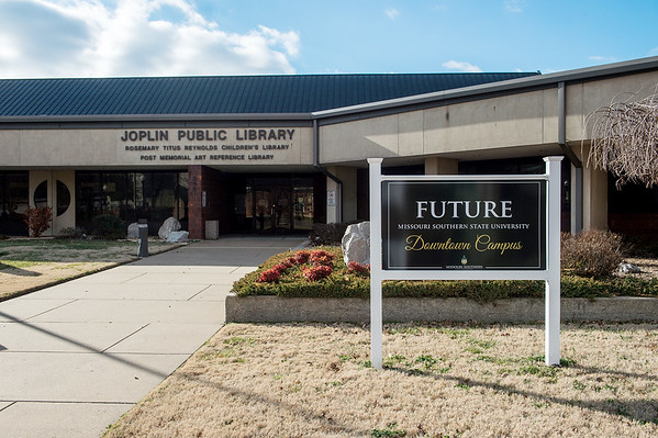 The former Joplin Public Library is the planned site for Missouri Southern's Downtown Campus.<br /> Globe | Roger Nomer