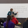 Linda Hand leads a Calculus I class in the new Nixon Hall at Missouri Southern on Tuesday.<br /> Globe | Roger Nomer